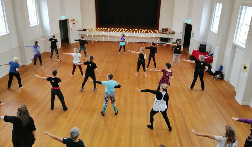 Here is a Nia Dance Jam lead by Nia Technique instructors from around NZ