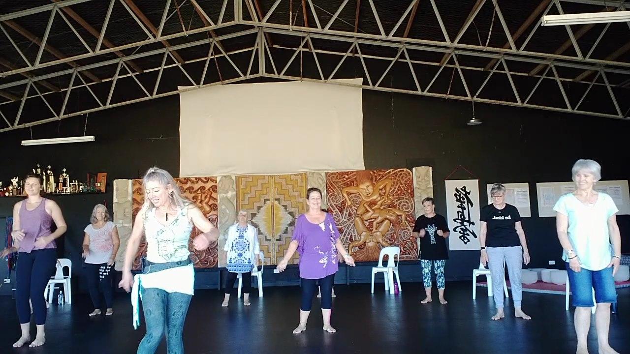 Dance NZ Following Belinda's Moves!